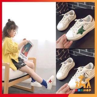 [HÀNG CAO CẤP] Giày Thể Thao Bé Trai Bé Gái ❤️FREESHIP 50K❤️ Giày trẻ em phong cách Hàn Quốc có gắn ngôi sao L0F12