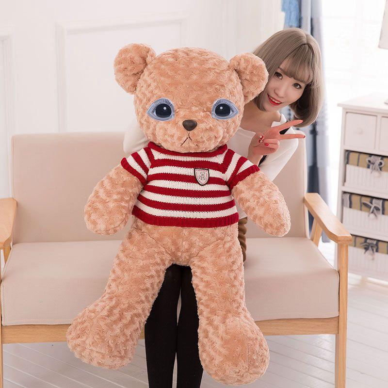 ST❀10 Sets Funny Cartoon Triangle Plastic Eyes For Teddy Bear Dolls Toy Animal Dolls Accessories