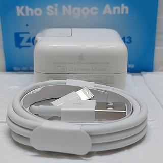 [ HÀNG CHÍNH HÃNG ] Củ Sạc Ipad chính hãng Apple 12w – BH 12 tháng