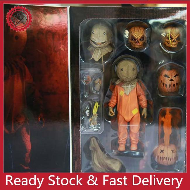 TTC Trick R Treat SAM Ultimate 7IN AF Halloween pumpkin movie action figure