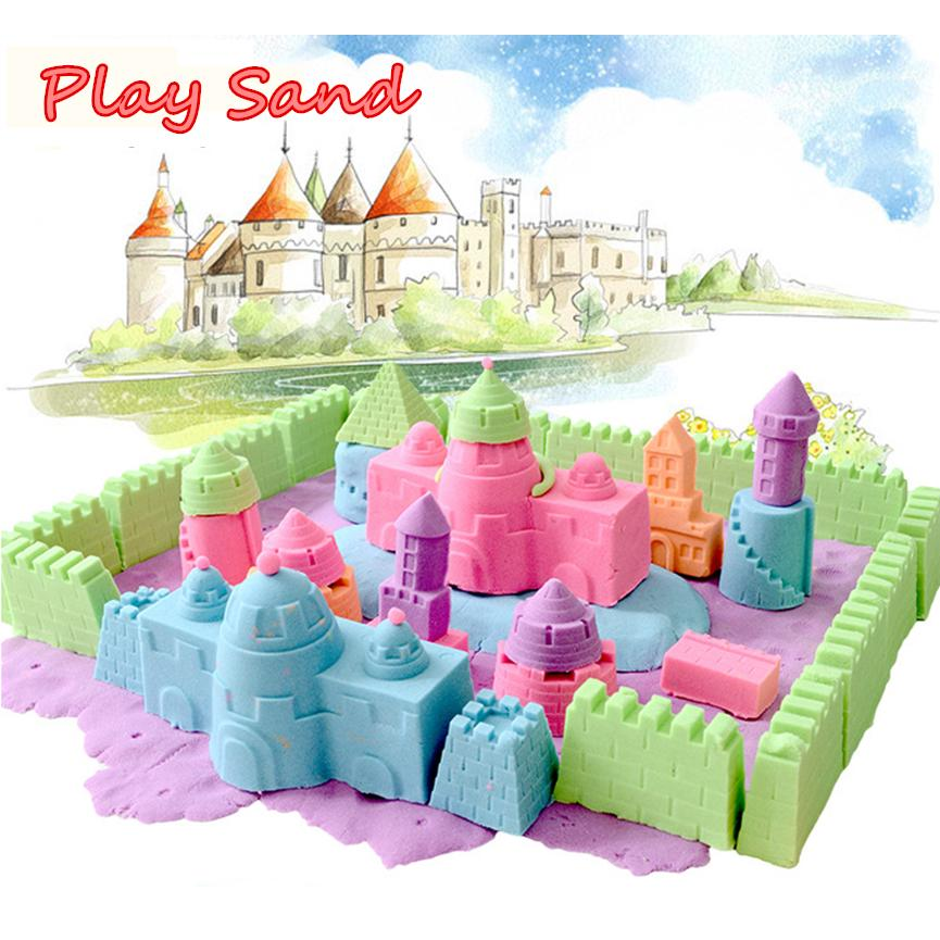 Magic Motion Colorful Play Sand DIY Indoor Craft Non Toxic Toy