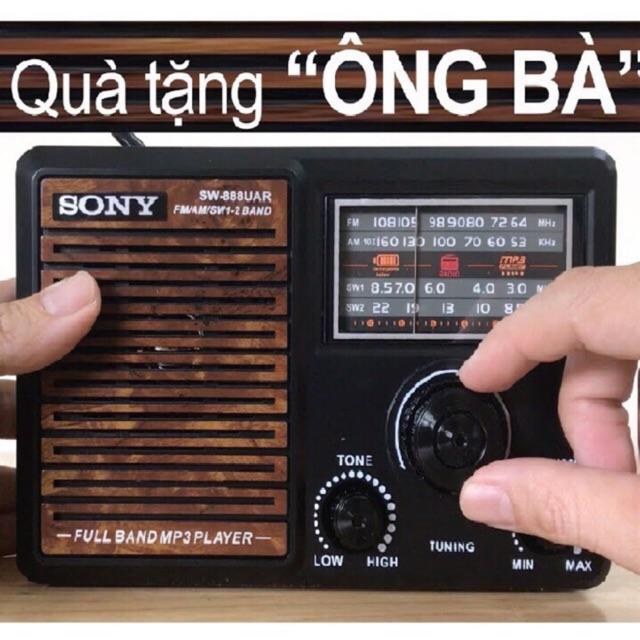 Đài radio sony sw-888UAR quà tặng dành cho ông bà.