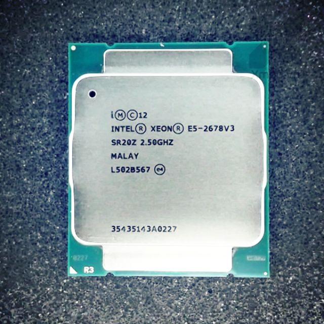 Cpu Intel xeon E5 2673v3 E5 2678v3 12 nhân 24 luồng socket 2011 v3