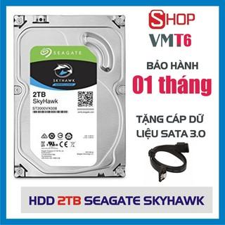 Ổ cứng HDD 1TB / 2TB /3TB / 4TB Seagate Skyhawk  3.5inch - Hàng còn mới 99%- Bảo hành 1 tháng !