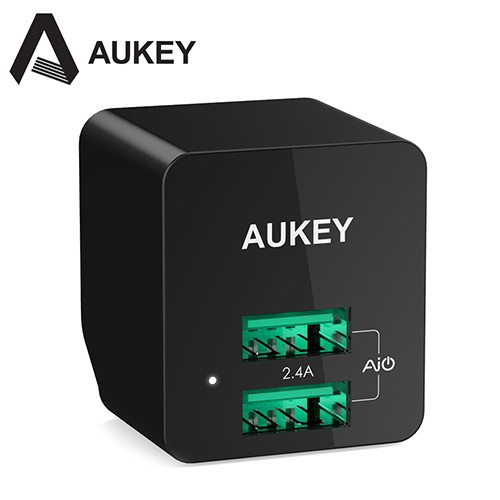 Cốc Sạc 2 Cổng USB AiPower Aukey PA-U32 (Đen) _ 601629299334 - 3556467 , 1101620941 , 322_1101620941 , 249000 , Coc-Sac-2-Cong-USB-AiPower-Aukey-PA-U32-Den-_-601629299334-322_1101620941 , shopee.vn , Cốc Sạc 2 Cổng USB AiPower Aukey PA-U32 (Đen) _ 601629299334