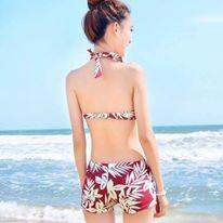 Bộ bơi hoa nhí kèm váy 3 chi tiết