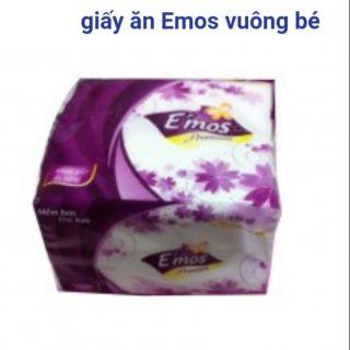 Khăn ăn Emos vuông bé