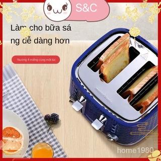Bánh Mì Nướng Bánh Mì Bánh Ăn Sáng Ăn Sáng Máy Tạo Tác Nướng Nhỏ Đa Chức Năng Nướng thumbnail