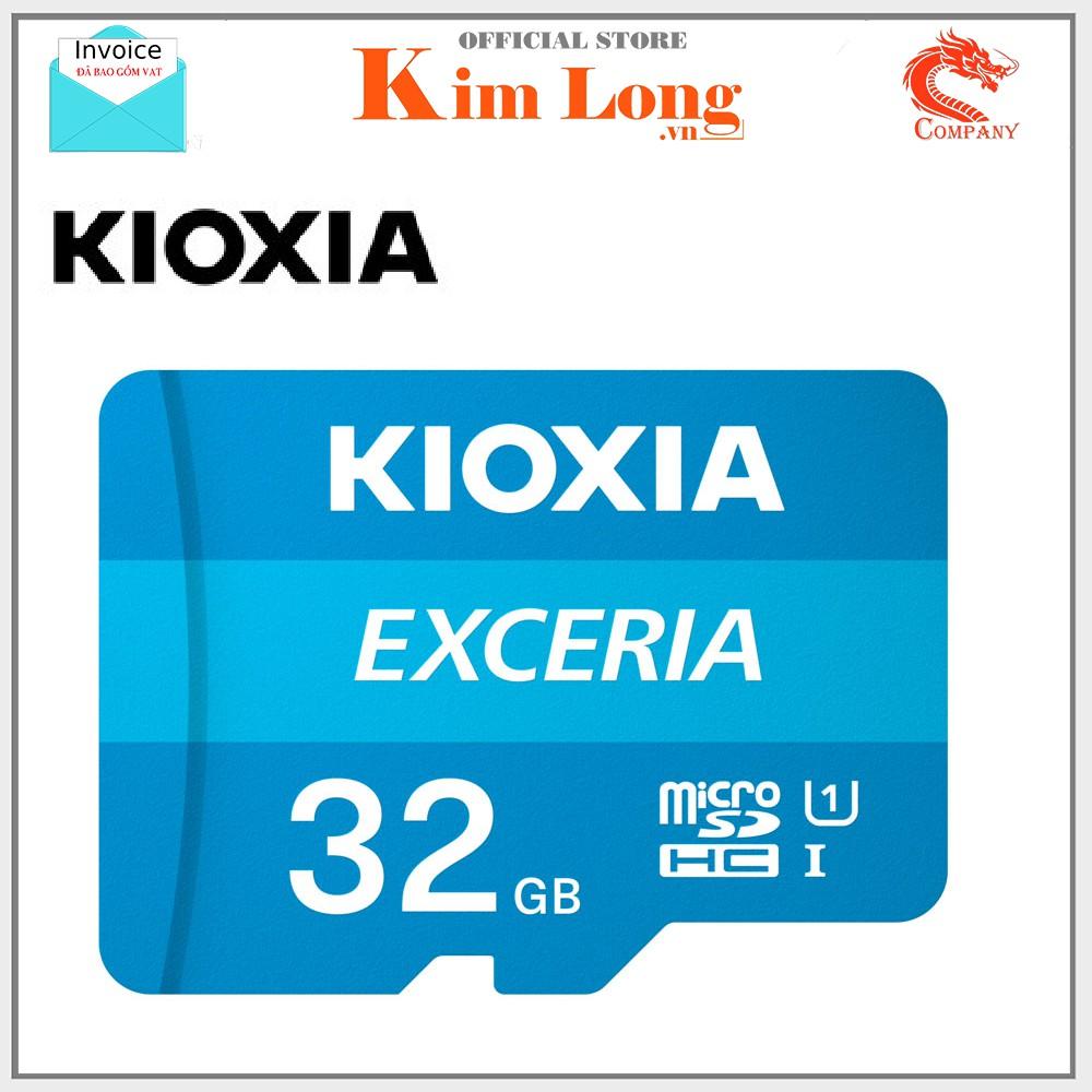 Thẻ nhớ Kioxia (Toshiba) Micro SD HC 32GB Class 10 UHS-I 100MB/s hàng FPT