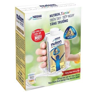Lốc 2 Hộp Sữa Dinh Dưỡng Nutren Junior - Hô p Pha Să n Tiê n Lơ i - 200ml Hộp thumbnail