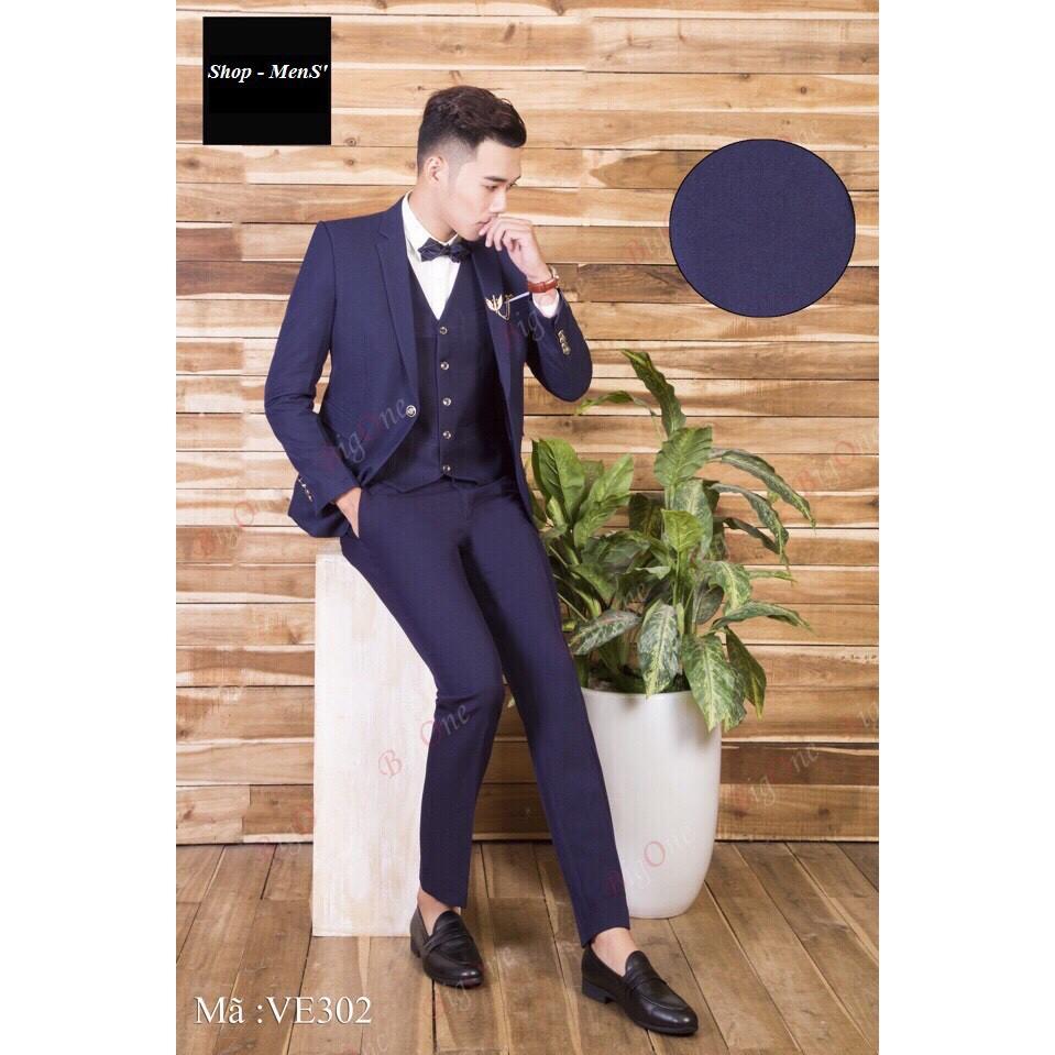 Bộ vest nam trẻ trung lịch lãm - VE302ks