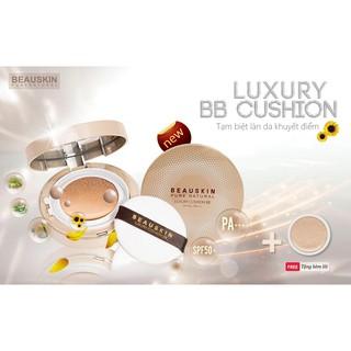 [Phấn nước Hàn Quốc] Phấn nước kiềm dầu siêu mịn Beauskin Luxury Cushion BB Hàn Quốc (11g x 2 lõi ) - Hàng chính hãng thumbnail