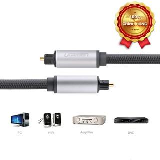 [Mã ELMSBC giảm 8% đơn 300k] Cáp audio quang (Toslink, Optical) 3M Ugreen 10541 vỏ nhôm cao cấp