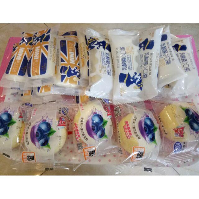 Compo 25c Bánh tươi Đài Loan (10 sữa chua+ 10 dứa + 5 việt quất)