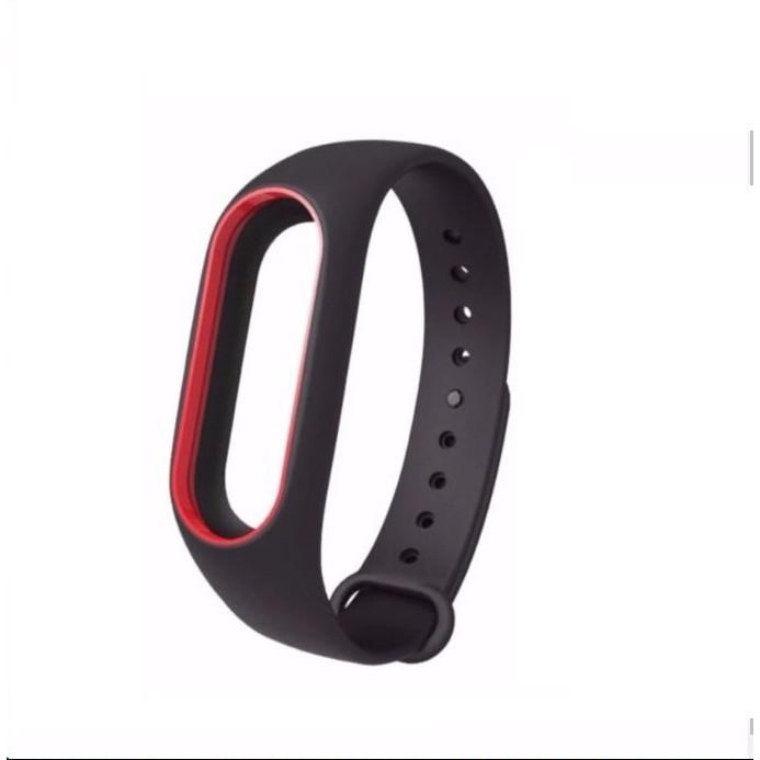 Vòng đeo tay 2màu thay thế cho Xiaomi Miband 2 (chính hãng Mijobs)