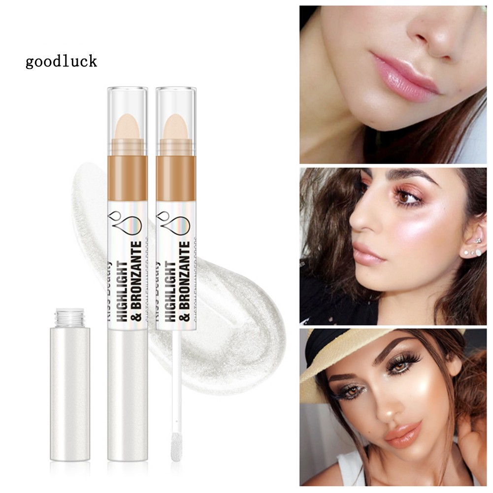 GLK_Kissbeauty Liquid Highlighter Face Glow Primer Oil Control Contour Brightener