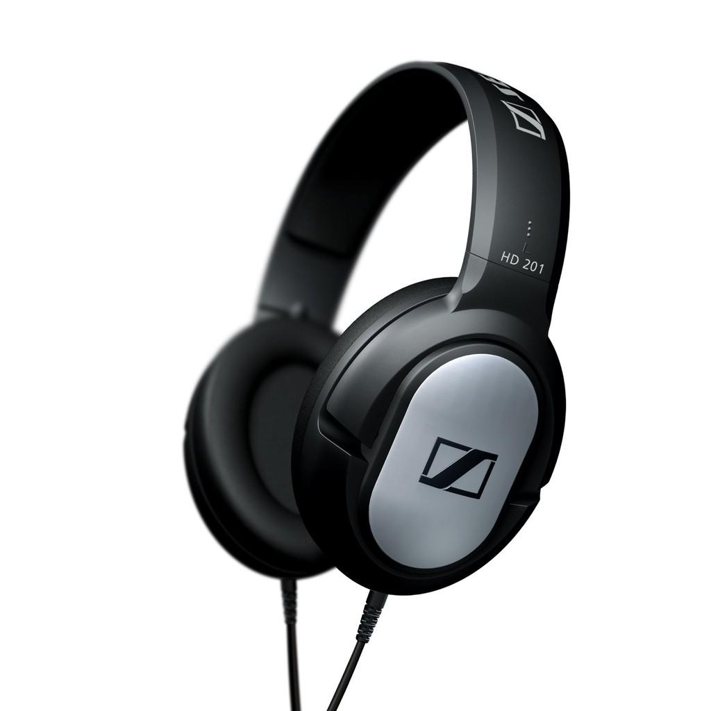 Tai nghe chụp tai Sennheiser HD 201 (Đen) - Hãng phân phối chính thức
