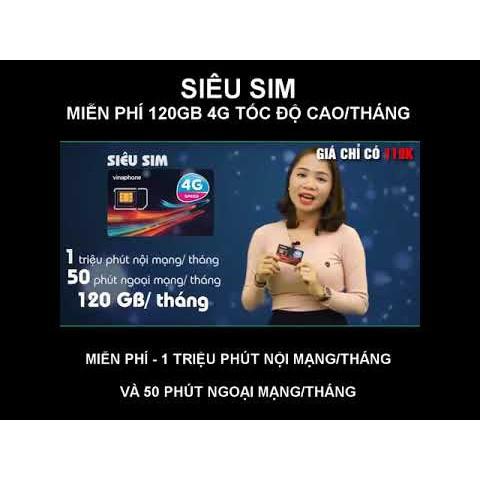 Sim 4G( 10 số, có 95k tài khoản chính ) Vinaphone VD89 PLUS 120GB/THÁNG (4GB/NGÀY), miễn phí gọi nội mạng. - 14476660 , 1077489662 , 322_1077489662 , 130000 , Sim-4G-10-so-co-95k-tai-khoan-chinh-Vinaphone-VD89-PLUS-120GB-THANG-4GB-NGAY-mien-phi-goi-noi-mang.-322_1077489662 , shopee.vn , Sim 4G( 10 số, có 95k tài khoản chính ) Vinaphone VD89 PLUS 120GB/THÁNG