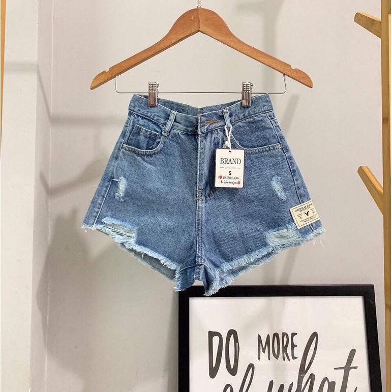 [Mã WASEPRN hoàn 20% xu đơn 99k] Quần short jean nữ lưng cao King168 , quần short nữ cao cấp QS32