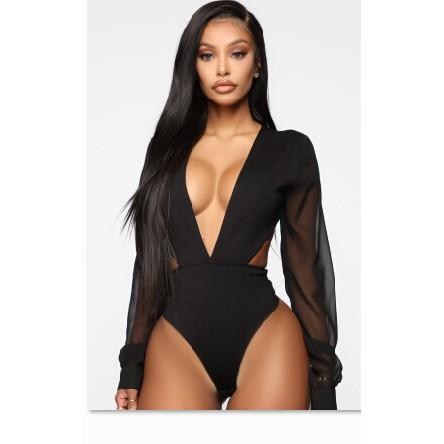 Mặc gì đẹp: Tắm biển vui với Bộ đồ tắm một mảnh tay dài cổ chữ V hở lưng hở eo gợi cảm cho nữ