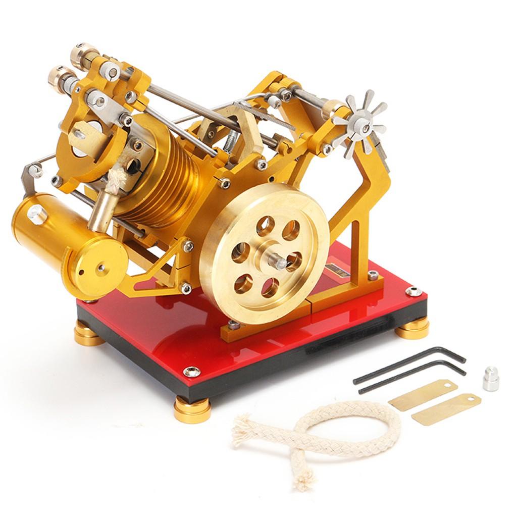 V1-45 Flame Licker Eater Single Cylinder Stirling Engine Generator Model