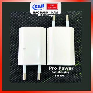 Bộ củ cóc sạc Iphone dài dẹt cao cấp sạc nhanh cho Ipad, ipod KLH FC20 thumbnail