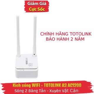 Bộ phát sóng WiFi AC1200 Totolink A3 Bảo hành 24 tháng