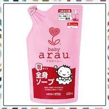 (Bán Chạy)Combo sữa tắm gội toàn thân Arau Baby 450ml loại mới