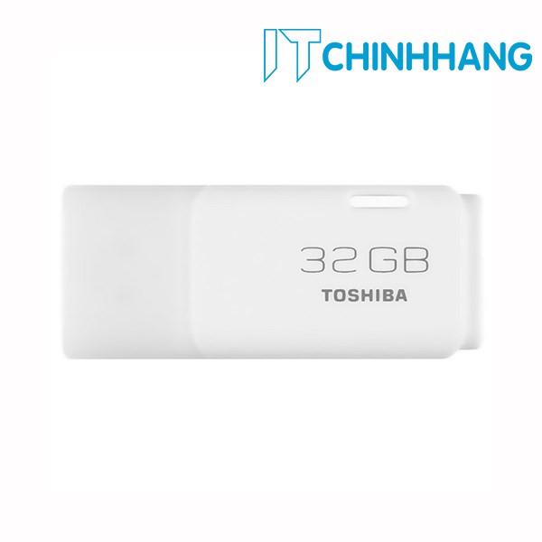 USB 32GB TOSHIBA U202 ( TRẮNG ) - HÃNG PHÂN PHỐI CHÍNH THỨC