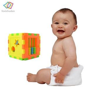 FCD Plastic Model Building Kits 10 Shapes Blocks Educational Toys For Children Christmas Presents