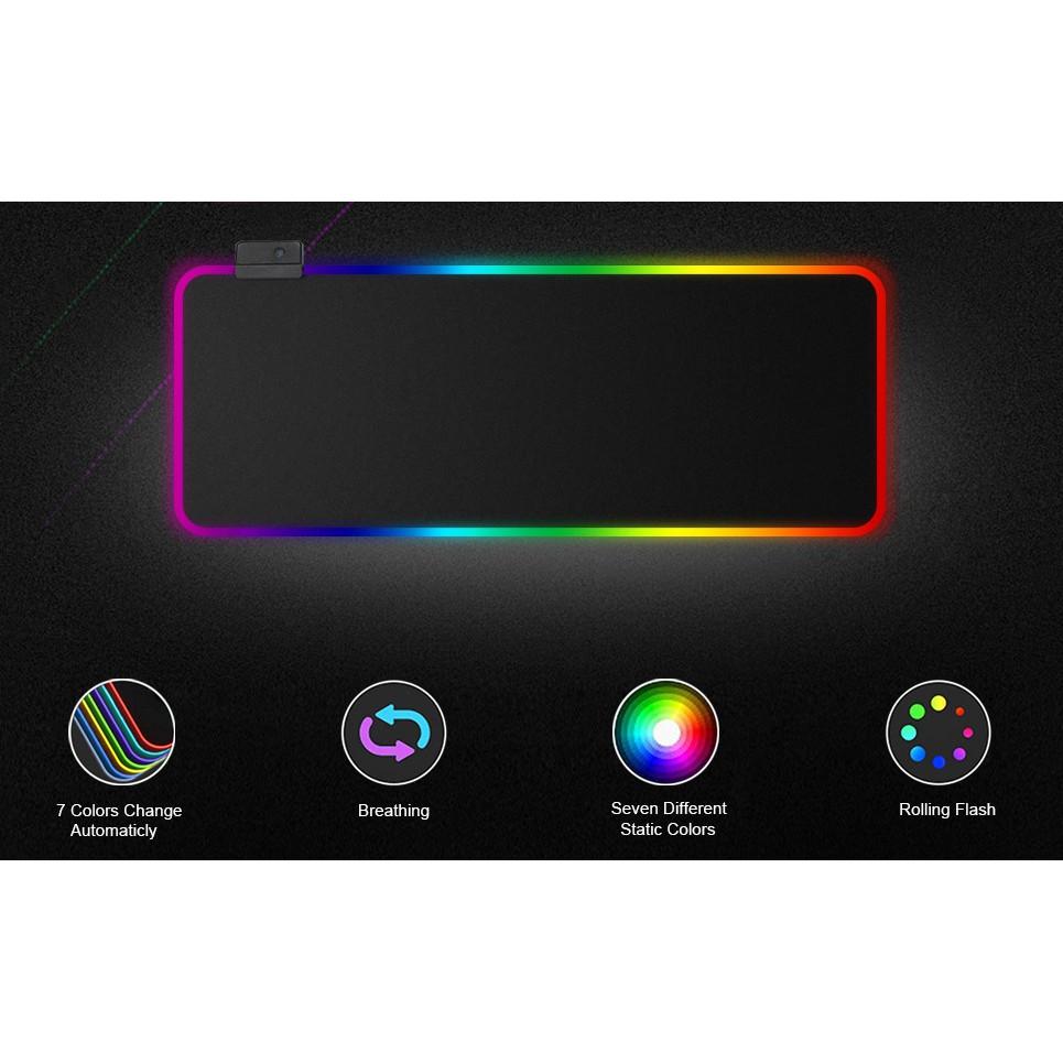 Lót Chuột Pad RGB Loại Lớn 80x30cmx4mm Giá chỉ 250.000₫