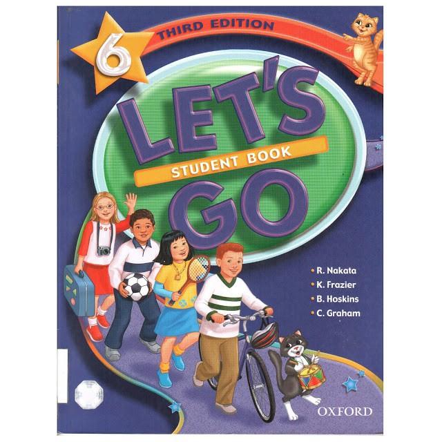 Bộ sách tiếng Anh cho trẻ Let's Go 6