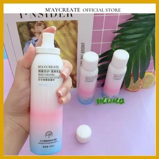 Chai xịt chống nắng toàn thân MayCreate Moisturizing 150ml trắng da nâng tone da chống thấm nước MXCN1 thumbnail