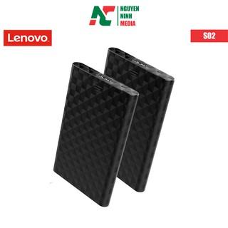 [Mã ELFLASH5 giảm 20K đơn 50K] Hộp Đựng Ổ Cứng HDD Box LENOVO S-02, 2.5