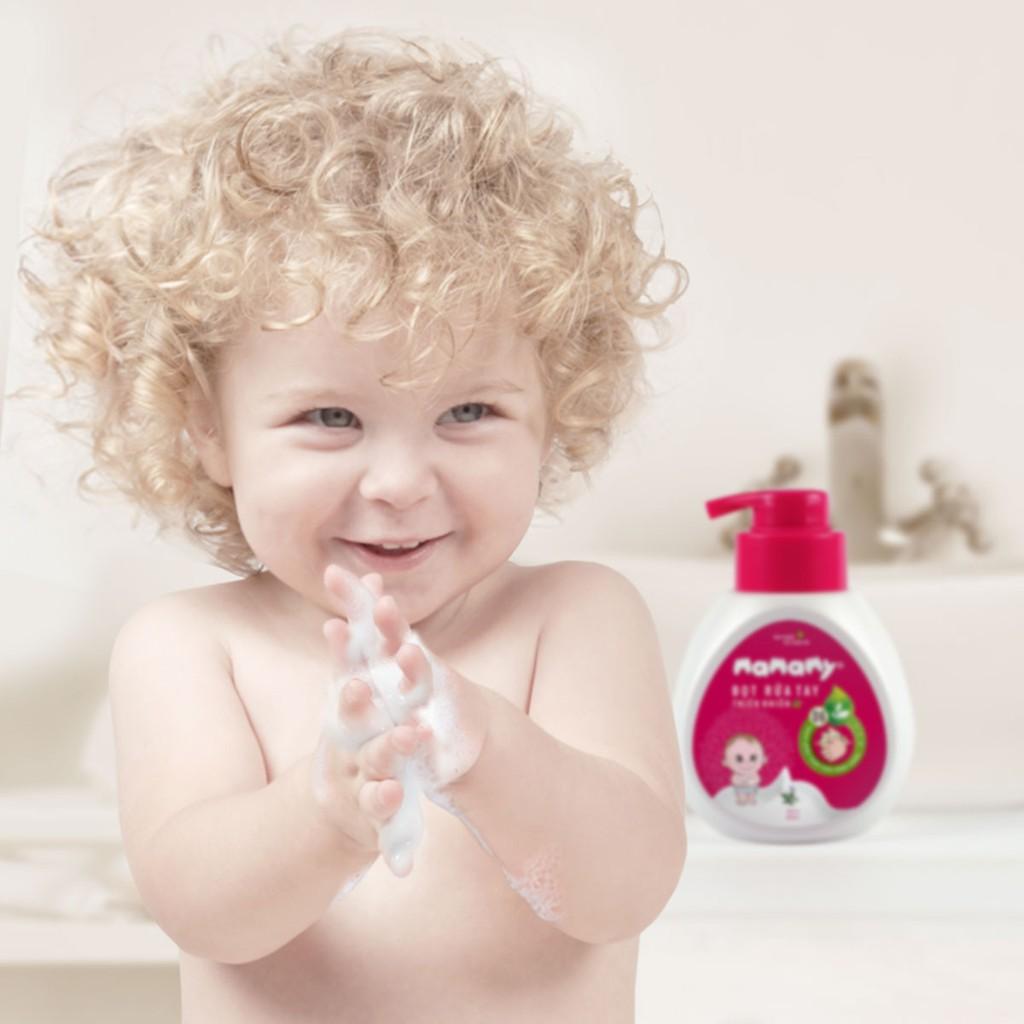 Khăn ướt / giấy ướt cho bé Mamamy có nắp không mùi 100 tờ - Combo 6 gói + 1 nước rửa tay tạo bọt + 1 xịt kháng khuẩn