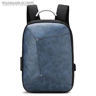 Túi đeo vai nam và nữ chống trộm mới có công suất lớn khâu phản quang sinh viên đại học túi xách PU chống thấm nước ba thumbnail