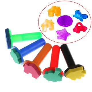 5pcs EVA Colorful Children Baby Educational Drawing Toy Baby Kids Paiting
