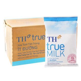 Sữa bịch ít đường 220 của TH