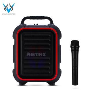 Loa kéo Karaoke Bluetooth cao cấp Remax RB-X3 công suất 15W + Tặng 1 micro không dây