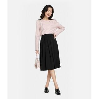 HNOSS - Váy Xếp Ly Lưng Thun - BAC12012017 thumbnail