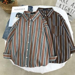 Long sleeved shirt plaid fashion summer