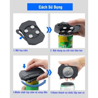 Dụng cụ biến lon nước thành chiếc cốc - dễ dàng - đơn giản - tiện lợi thumbnail