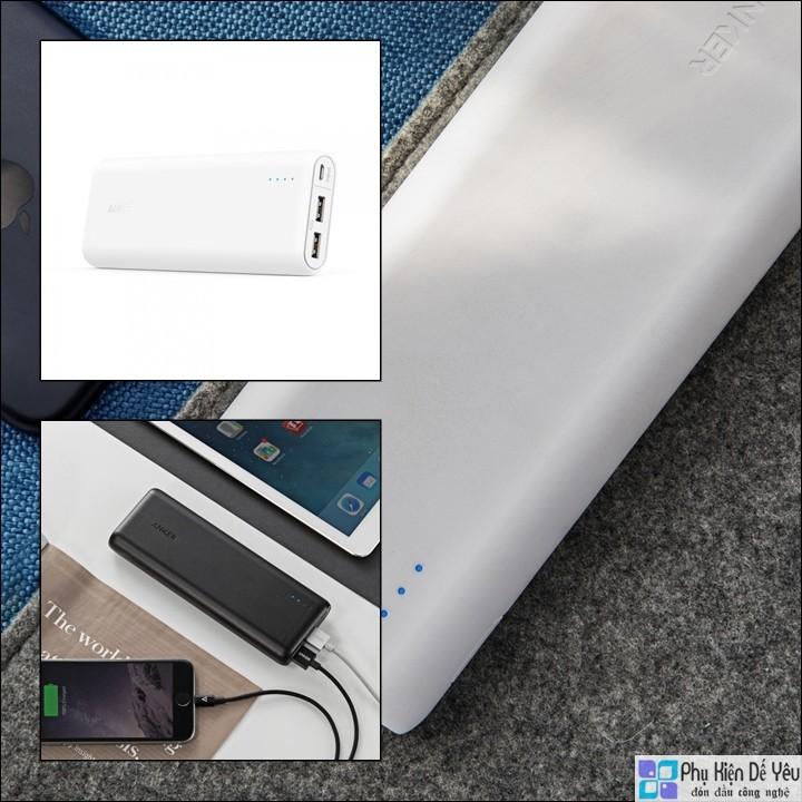 Pin sạc dự phòng Anker PowerCore 20100 mAh - 2 Cổng Sạc - 10063630 , 199113491 , 322_199113491 , 1300000 , Pin-sac-du-phong-Anker-PowerCore-20100-mAh-2-Cong-Sac-322_199113491 , shopee.vn , Pin sạc dự phòng Anker PowerCore 20100 mAh - 2 Cổng Sạc