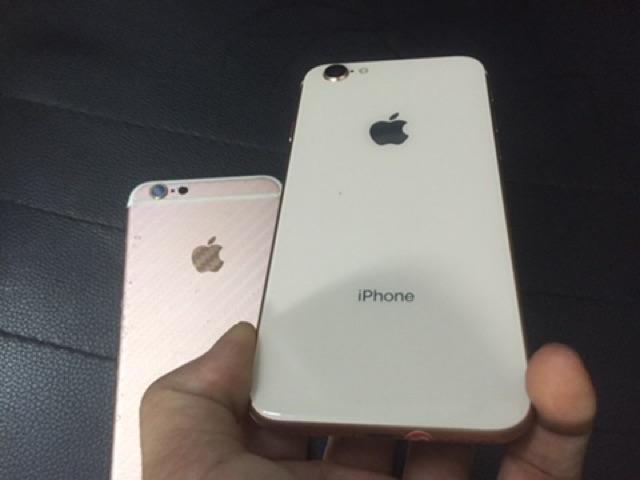 Vỏ iPhone 6 và iPhone 6S độ lên thành iPhone 8