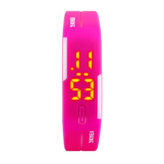 Đồng hồ nữ Skmei 1099A dây cao su (Hồng) thumbnail