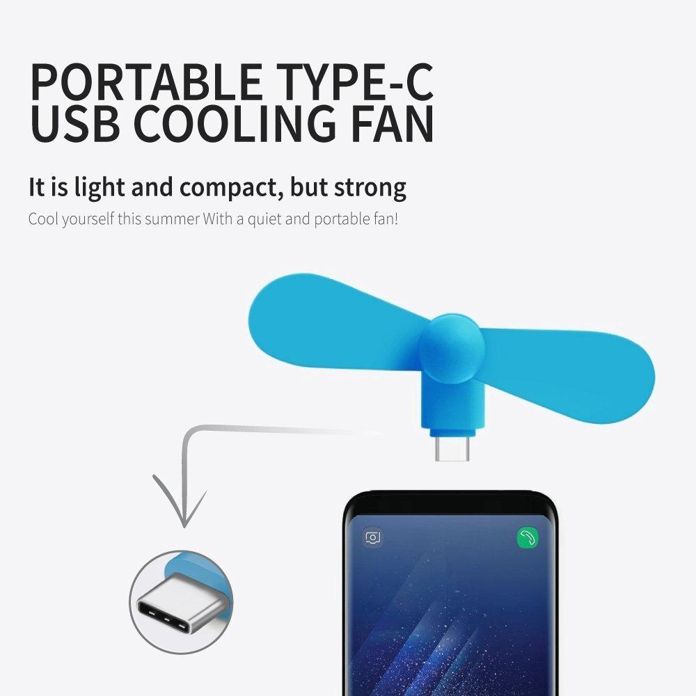 Quạt Mini Cổng Usb C / Micro Usb / Android