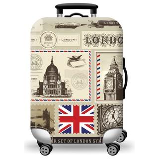 Túi bọc vali co giãn cao cấp Tem thư LonDon [Hàng Có Sẵn] thumbnail