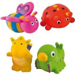Bộ đồ chơi nhà tắm hình các con thú.