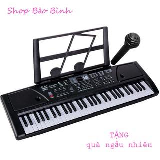Đàn piano keyboard 61 phím loại to cho bé + TẶNG quà