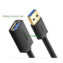 Dây cáp nối dài USB 2.0 (1 đầu đực, 1 đầu cái) dài 5M UGREEN US103 10318- Bảo hành chính hãng 12 tháng